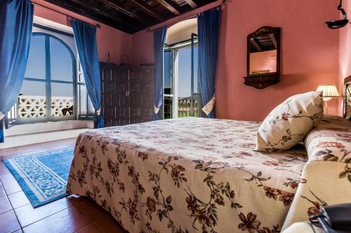 Habitación Doble Superior con terraza B&B Hacienda el Santiscal 20