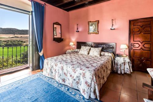 Habitación Doble Superior con terraza B&B Hacienda el Santiscal 19