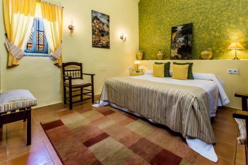 Habitación Doble - 1 o 2 camas B&B Hacienda el Santiscal 40