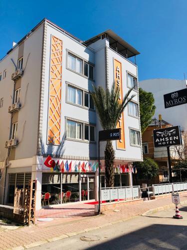 Antalya Ahsen Hotel rezervasyon