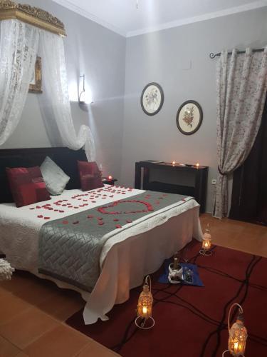 Habitación Doble con vistas - 1 o 2 camas   B&B Hacienda el Santiscal 39