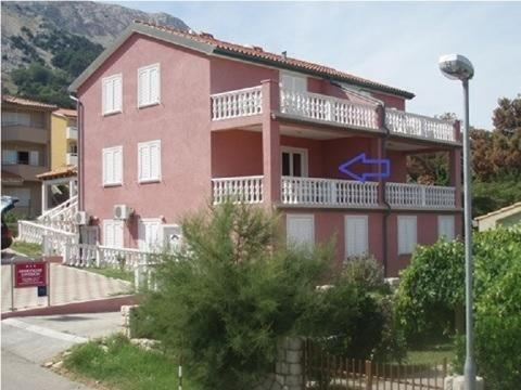 Apartment in Baska with Seaview, Terrace, Air condition, WIFI (4691-5)