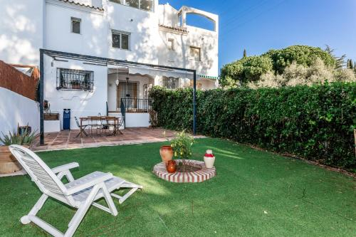 Cozy four bedrooms Townhouse in La Casita Colorada, Mijas Pueblo