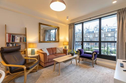 Stylish 2-Bed Flat In Bayswater Near Hyde Park