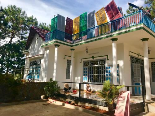 Doc lap, Tu do, Hanh Phuc - Mang Den Homestay, Kon Plông