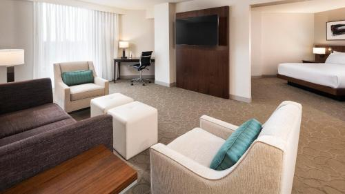 One-Bedroom King Junior Suite with Sofa Bed