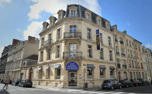 Brit Hotel Aux Sacres Reims Centre - Hôtel - Reims