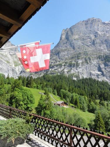 Superior Double Room with Balcony and Eiger View