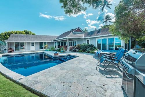 Photos de salle de Home with Pool/Spa Breathtaking ocean views