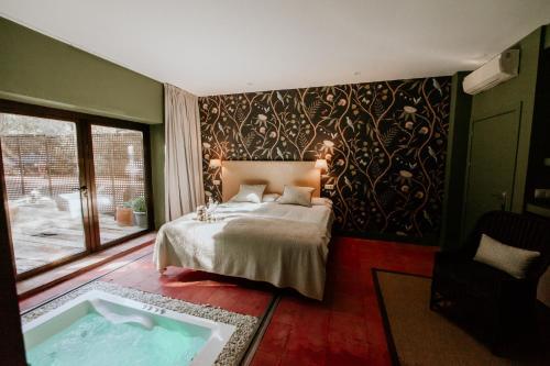 Habitación Doble con bañera de hidromasaje Hotel Boutique Pinar 1