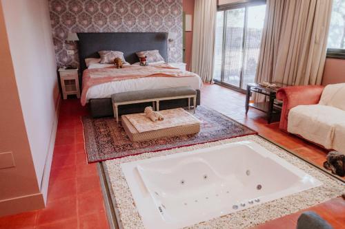 Habitación Doble con bañera de hidromasaje Hotel Boutique Pinar 16