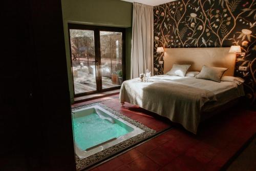 Habitación Doble con bañera de hidromasaje Hotel Boutique Pinar 13