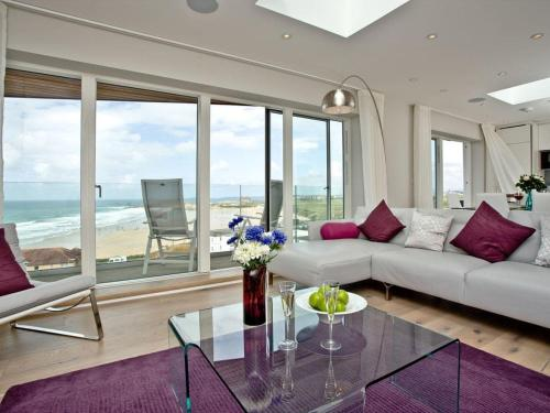 Penthouse At Fistral, Crantock, Cornwall