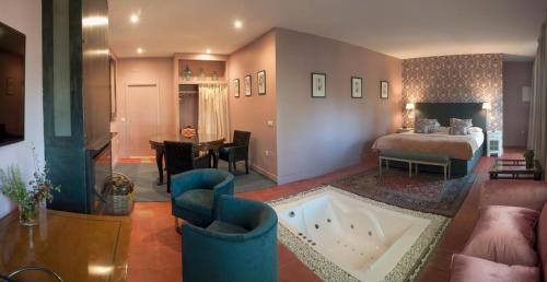 Habitación Doble con bañera de hidromasaje Hotel Boutique Pinar 9