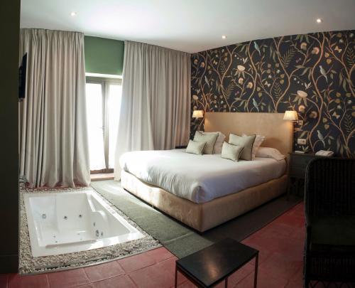 Habitación Doble con bañera de hidromasaje Hotel Boutique Pinar 5