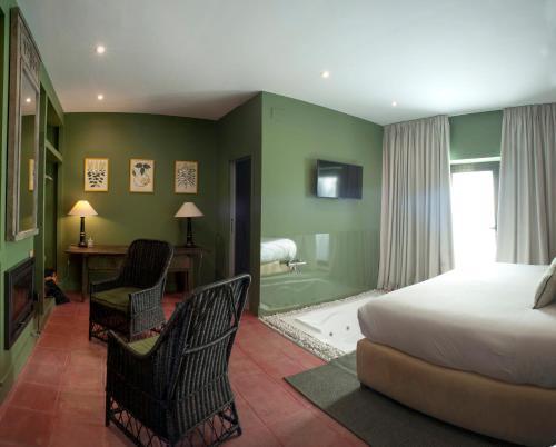 Habitación Doble con bañera de hidromasaje Hotel Boutique Pinar 7