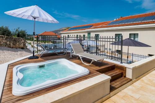 Brown Beach House Hotel Review Trogir Croatia