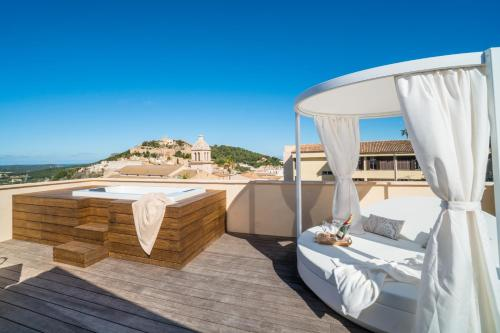 Suite with Terrace Hotel Creu de Tau Art&Spa-Adults only 5