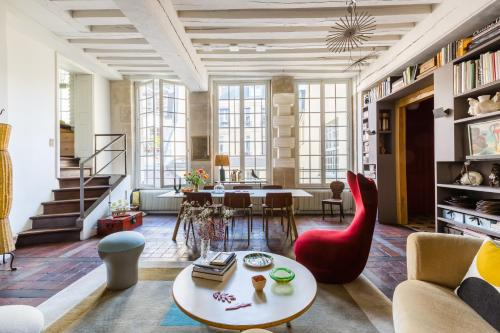 Veeve - Beautiful Loft on Rue Quincampoix - Location saisonnière - Paris