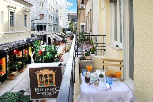 Hellenic Hospitality House, Pension in Athen