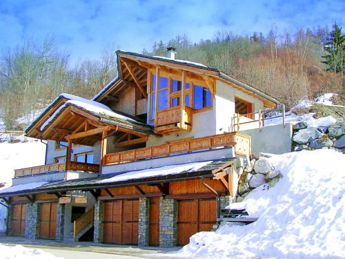 Comfortable Chalet in Peisey-Nancroix with Balcony - Peisey-Vallandry
