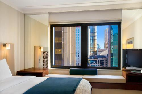 Standard Double Room with Two Double Beds and City View