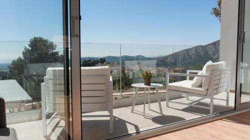 Suite with Terrace Puig Campana Nature Suites Hotel & BTT 7