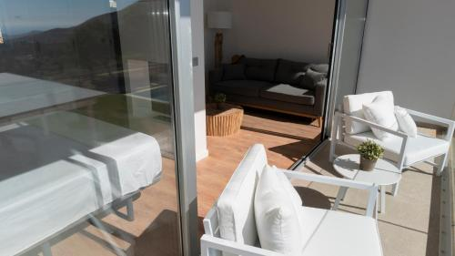 Suite with Terrace Puig Campana Nature Suites Hotel & BTT 4