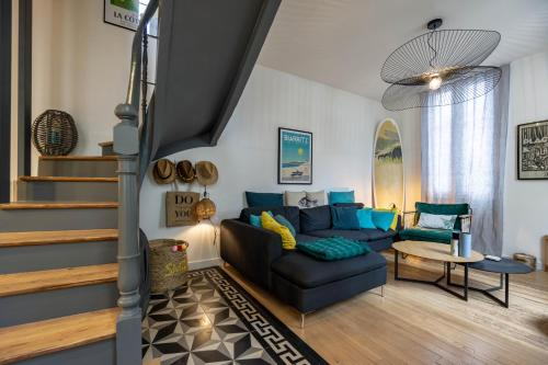 . SURF SHACK KEYWEEK Very cosy and well decorated townhouse in Biarritz