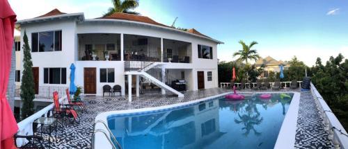 Ocean Winds Villa Bed Breakfast Montego Bay In Jamaica