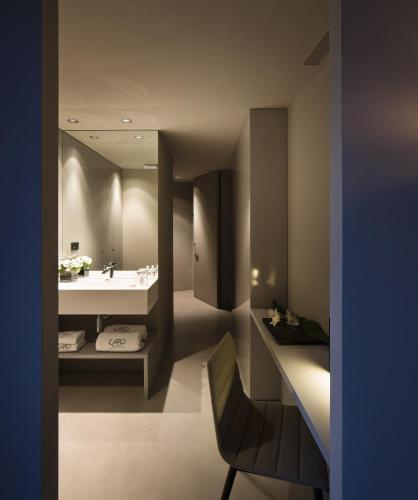 Superior Doppel- oder Zweibettzimmer mit Terrasse - Einzelnutzung Caro Hotel 11