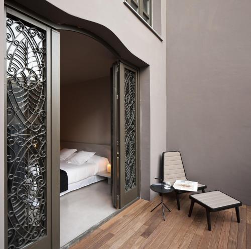 Superior Doppel- oder Zweibettzimmer mit Terrasse - Einzelnutzung Caro Hotel 9