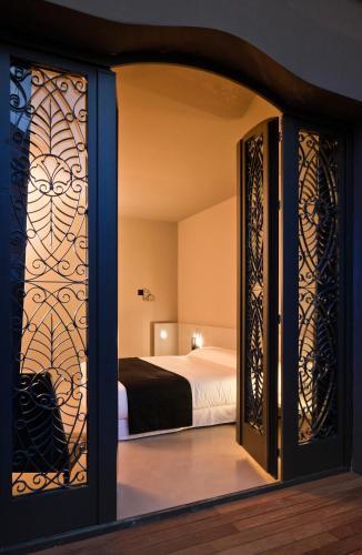 Superior Doppel- oder Zweibettzimmer mit Terrasse - Einzelnutzung Caro Hotel 12