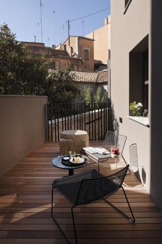 Habitación Doble Executive con terraza - 1 o 2 camas - Uso individual Caro Hotel 11