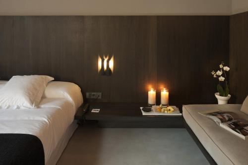Habitación Doble Executive con terraza - 1 o 2 camas - Uso individual Caro Hotel 13