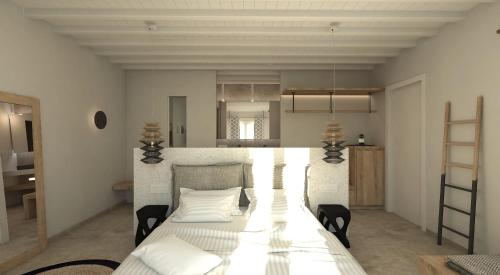 侧面海景豪华双人房 (deluxe double room with side sea view)