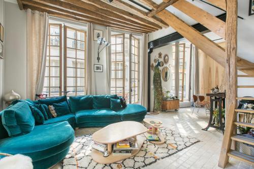Luxury duplex - Marais - Hôtel - Paris
