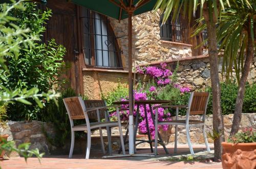 Habitación Doble Superior con terraza Hotel Galena Mas Comangau 70