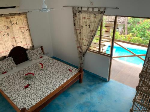 Superior-bangalo – Vaade aiale (Superior Bungalow with Garden View)