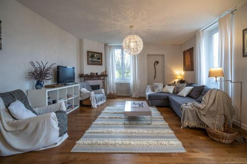 Bright airy spacious apartment - Hotel - Passy Plaine Joux