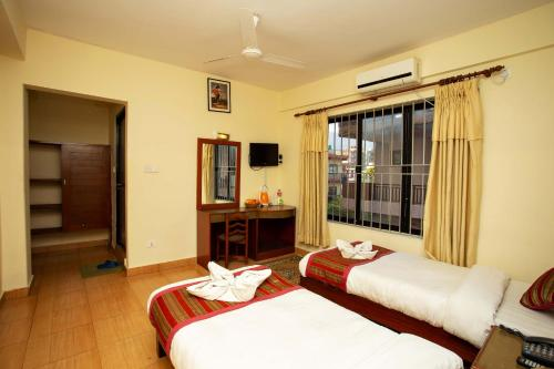Deluxe Double or Twin Room with Balcony and exclusive In-house Discounts