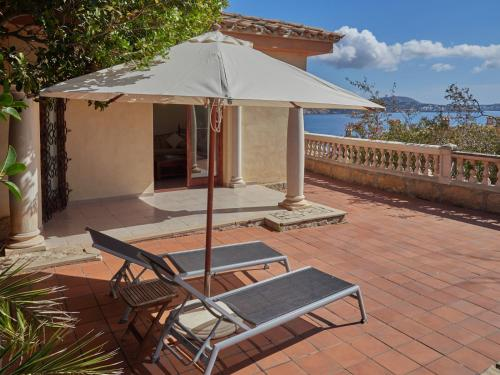 Deluxe Suite with Sea View Hotel Petit Cala Fornells 1