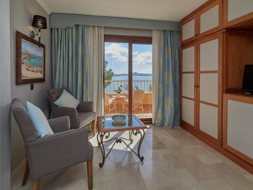 Junior Suite with Sea View - single occupancy Hotel Petit Cala Fornells 1