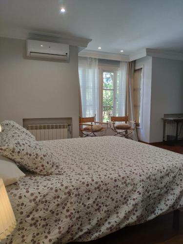 Doppel-/Zweibettzimmer mit Gartenblick - Einzelnutzung Villa Antumalal B&B 1