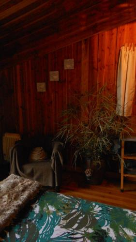 Dvoposteljna soba s pogledom na gore (Double Room with Mountain View)