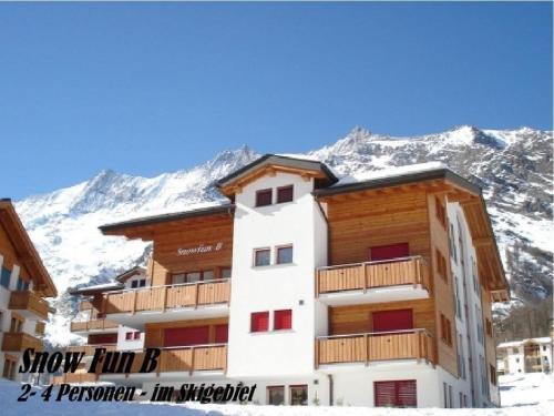 Apartment Snow-Fun B Saas-Fee