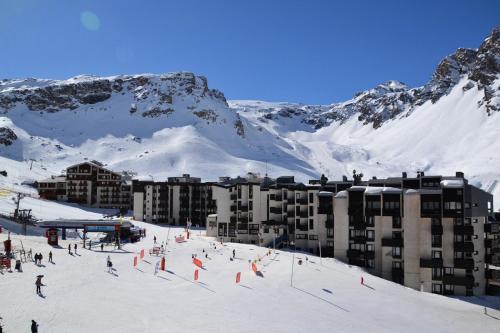 Studio skis aux pieds à Tignes - Maeva Particuliers 87216 Tignes Le Lac