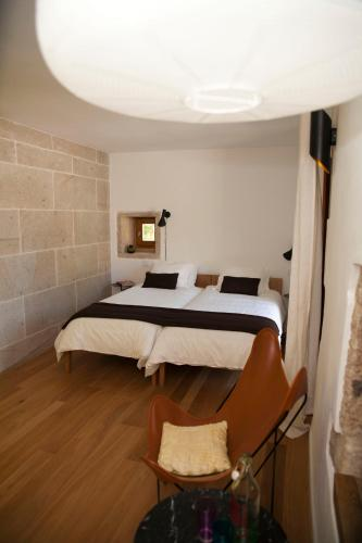 Double or Twin Room - single occupancy Os Lambráns 7
