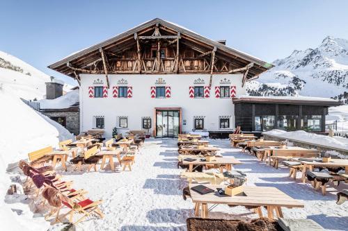 Hotel Jagdschloss Resort Kühtai