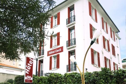Hôtel Cecil - Hôtel - Antibes